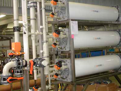 Установки механической фильтрации